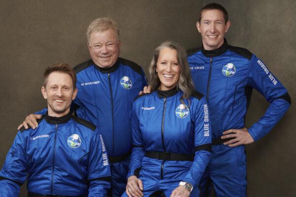 William Shatner space flight