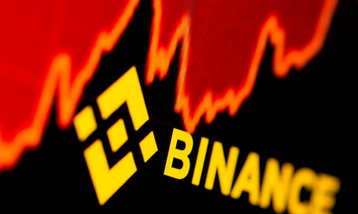 Binance logo and stock graph are displayed in this illustration taken on June 28, 2021. (Dado Ruvic/Illustration/Reuters)