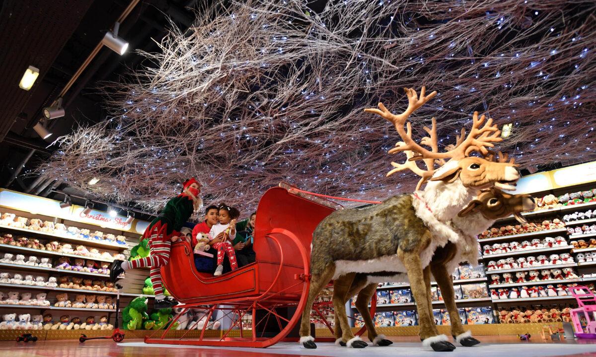 Hamleys toy UK Christmas