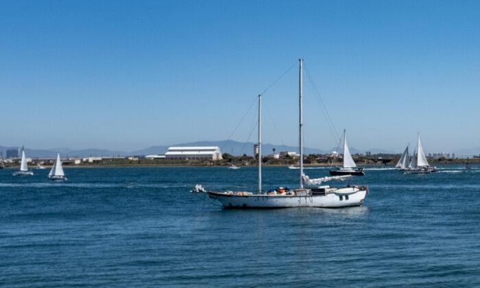 The port of San Diego on March 27, 2021. (John Fredricks/The Epoch Times)