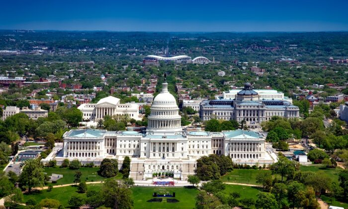An undated overview of the Capitol in Washington, D.C. (David Mark/Pixabay)