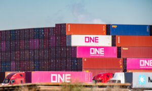 Shipping Containers from Stranded Ships Abandoned in California Neighborhoods