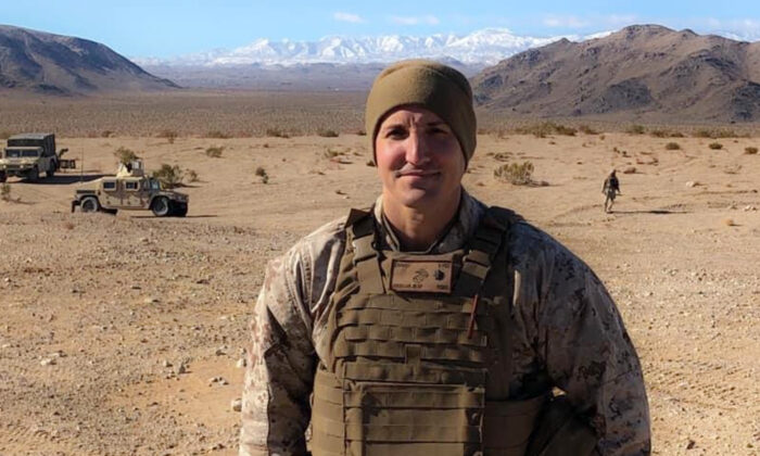 Lt. Col. Stuart Scheller in a file photograph. (Courtesy of Stuart Scheller)