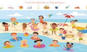 Hidden Objects: The Beach 2