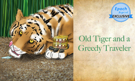 Ancient Tales of Wisdom: Old Tiger and a Greedy Traveler