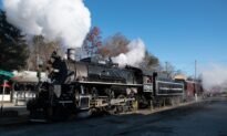 A Train Journey on the Great Smoky Mountains Railroad