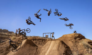 Stylish Semenuk Becomes Red Bull Rampage's First Four-Time Winner
