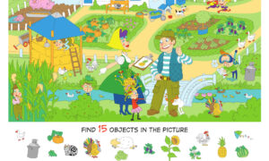 Hidden Objects: The Garden