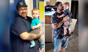 Morbidly Obese Man Loses 160lb for Newborn Son: 'If You're 406lb, You Need a Life Change'