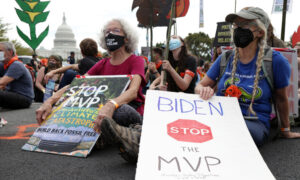 Climate Activists Arrested After Storming Interior Department