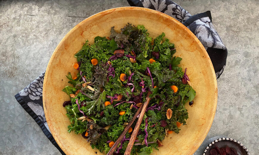 A Hearty Salad for Fall