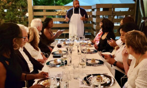 History Is on the Menu at 'Hemings & Hercules' Dinners