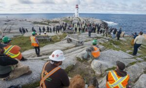Viewing Platform Opens at Peggy's Cove in Nova Scotia With Eye to Improving Safety