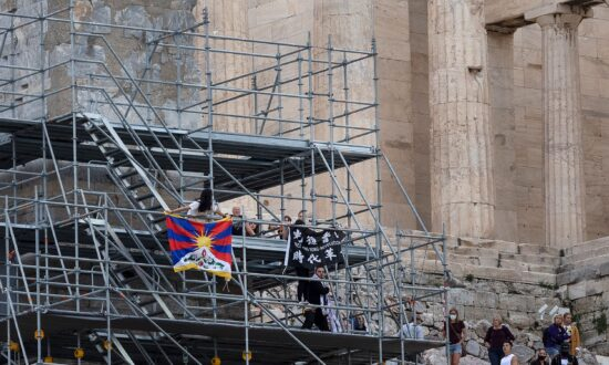 International Groups Call for Release of Athens Protesters Opposing Beijing Olympics