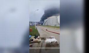 Large Fire in Major Oil Refinery in Kuwait