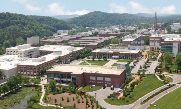 An aerial view of the Oak Ridge National Laboratory campus in a file photo. (Oak Ridge National Laboratory via The Department of Energy)