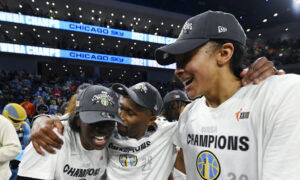 Chicago Sky Come From Behind to Win Their First WNBA Title