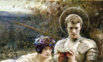 Arts: A Gentle Reminder to Think Righteously: 'Temptation of Sir Percival'