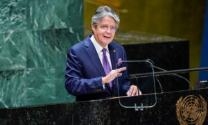 Ecuador's President Declares 60-day State of Emergency Over Rising Crime