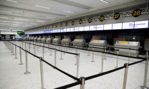 UK Manchester Airport Terminal Closed as Suspicious Package Report Assessed