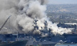 Navy Probe Finds Major Failures in Fire That Destroyed Ship