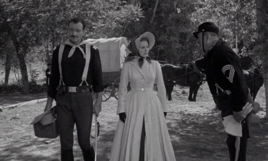 Popcorn and Inspiration: 'Rio Grande': The Fantastic Finale to John Ford's Cavalry Trilogy