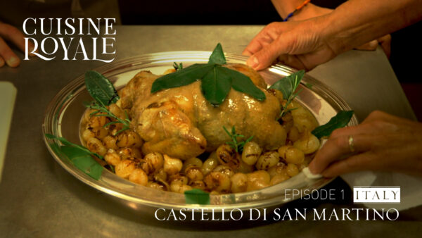 Cuisine Royale (Episode 1): Italy—in San Martino Alfieri Palace