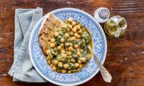 Cacciucco di Ceci (Tuscan Chickpea and Chard Soup)