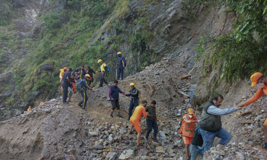 Over 180 People Killed After Heavy Rains in Nepal and India