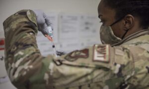 Over 12,000 Air Force Personnel Poised Not to Meet COVID-19 Vaccine Mandate Deadline