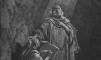 Arts: The Divine Light of Truth: 'Baruch Writing Jeremiah's Prophecies'