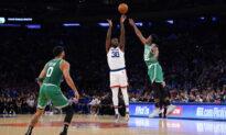 Knicks Survive Double OT to Beat Celtics 138–134 in Season Opener