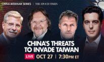Upcoming Live Q&A Webinar: Will China Wage War on Taiwan?