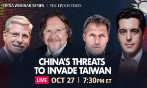 Live Q&A Webinar: Will China Wage War on Taiwan?