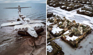 History Buff Snaps Photos of Military Scrap Graveyards in Remote Secret Sites in Over 50 Countries