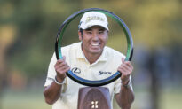 Masters Champion Matsuyama Wins by 5 Shots in Japan