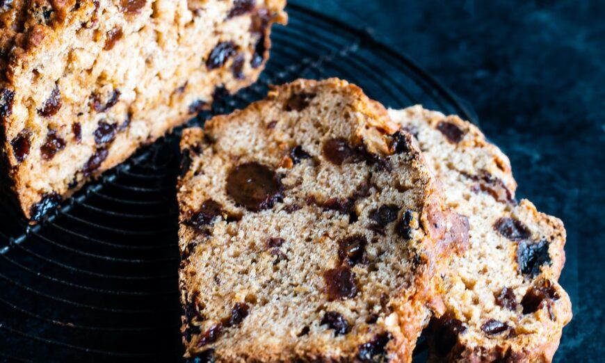 Barmbrack (Irish Fruit Bread)