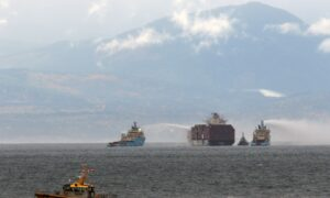 Fire on Cargo Ship Off British Columbia Coast Is Out: Coast Guard
