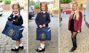 Proud Mom Takes Identical Pictures of Her Daughter on First Day of School for Over 10 Years