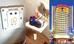 Chinese Woman Found Hidden Cameras In Five-Star Hotel