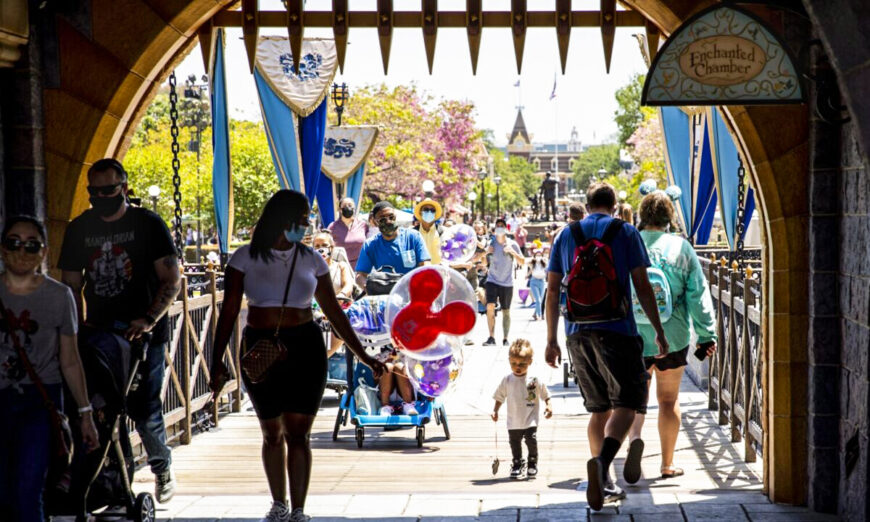 Disneyland Ticket Prices Go up as Much as 8 percent, With Parking Rising 20 percent