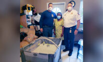 Fort Lauderdale Firefighters See Family Has No Crib for Infant—So They Drop Off Brand New One