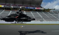 Japan Startup Targets Supercar Users With $700,000 Hoverbike