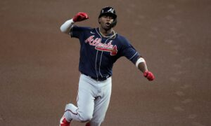 Soler, Braves Overcome Morton Injury, Top Astros in Game 1