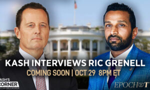 [Coming on 10/29/21 at 8pm ET] Kash's Corner: Kash's Up Close and Personal Conversation With Richard Grenell