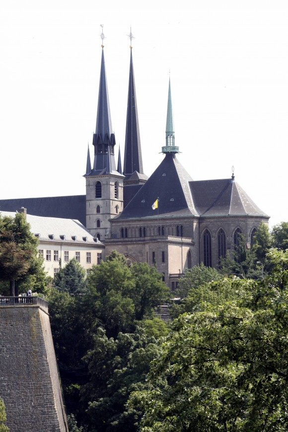 Notre-Dame Cathedral was built in the early 1600s. (Luxembourg for Tourism)