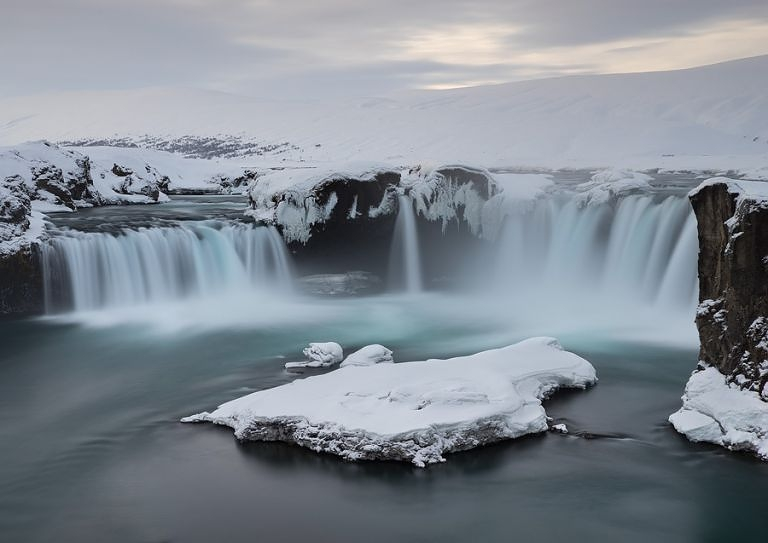 Goðafoss waterfall in Iceland. (Erez Marom)