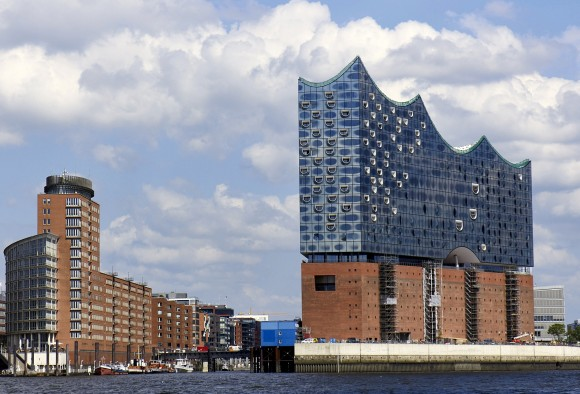 Elbphilharmonie is one of the largest and most acoustically advanced concert halls in the world. (Specialpaul/Wikipedia)