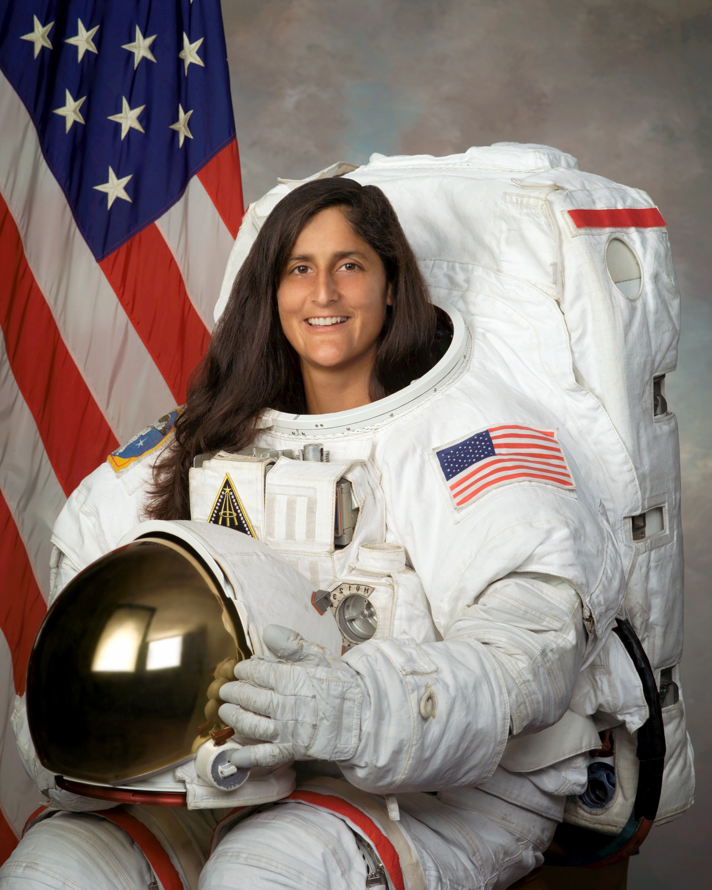 Sunita Williams was selected on July 9 to be part of the first crew of American astronauts to be ferried to space in a commercial spacecraft. (NASA)
