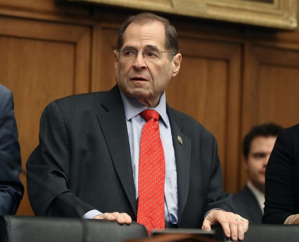 Rep. Jerrold Nadler (D-N.Y.) on Capitol Hill